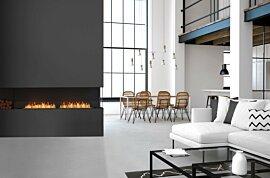 Flex 104RC.BXL Flex Fireplace - In-Situ Image by EcoSmart Fire
