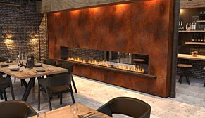 Flex 86DB.BX2 Flex Fireplace - In-Situ Image by EcoSmart Fire