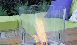 Melbourne International Flower and Garden Show Fire Screens Ethanol Burner Idea