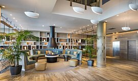 Hilton Auckland NZ Hospitality Fireplaces Ethanol Burner Idea