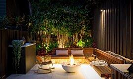 Stone Lotus Landscapes Commercial Fireplaces Fire Pit Idea