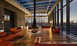 TFKB Skylounge Commercial Fireplaces Ethanol Burner Idea