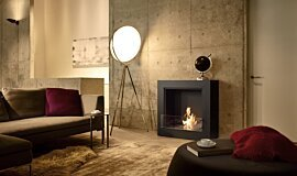 Private Residence Freestanding Fireplaces Designer Fireplace Idea