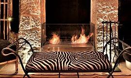 Villa Brown Jerusalem Hotel Freestanding Fireplaces Designer Fireplace Idea