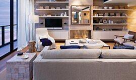 Beachfront Penthouse Residential Fireplaces Fireplace Insert Idea