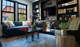 New York Loft Apartment Fireplaces Fireplace Insert Idea