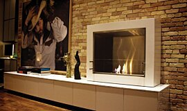 Private Residence Apartment Fireplaces Designer Fireplace Idea