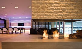 Allianz Arena Hospitality Fireplaces Ethanol Burner Idea