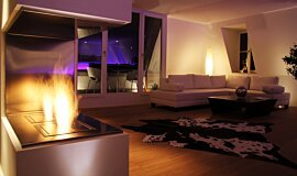Private Residence Builder Fireplaces Ethanol Burner Idea