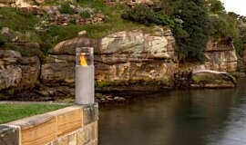 Hunters Hill Lighthouse Series Fire Pit Idea
