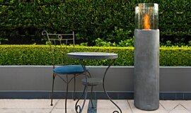 Hunters Hill Fluid Concrete Technology Fire Pit Idea