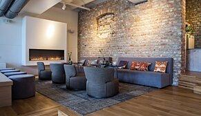 Flex 104SS Flex Fireplace - In-Situ Image by EcoSmart Fire