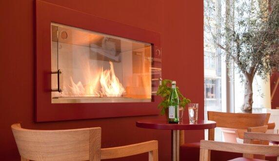 Vapiano, UK - Firebox 1200SS Premium Fireplace by EcoSmart Fire