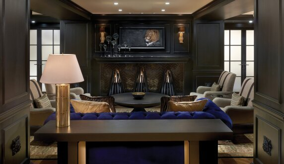 Allegro Hotel - Stix Outdoor Fireplace by EcoSmart Fire