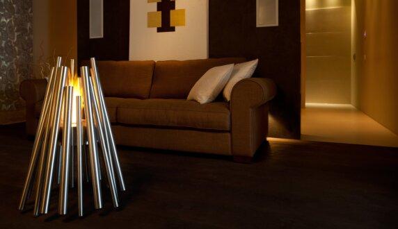 Stilhof Showroom - Stix Outdoor Fireplace by EcoSmart Fire