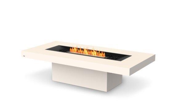 Gin 90 (Chat) Fire Table - Ethanol - Black / Bone by EcoSmart Fire
