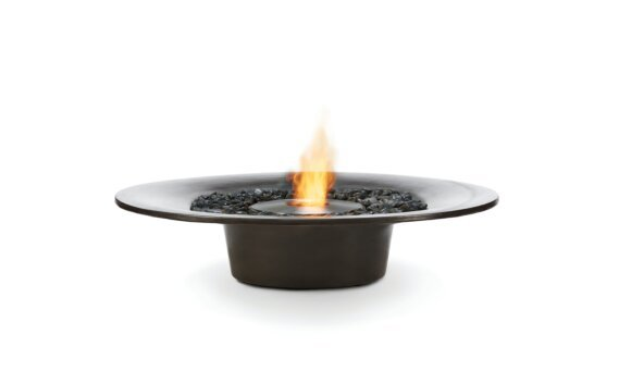Ayre Fire Pit - Ethanol / Graphite by EcoSmart Fire