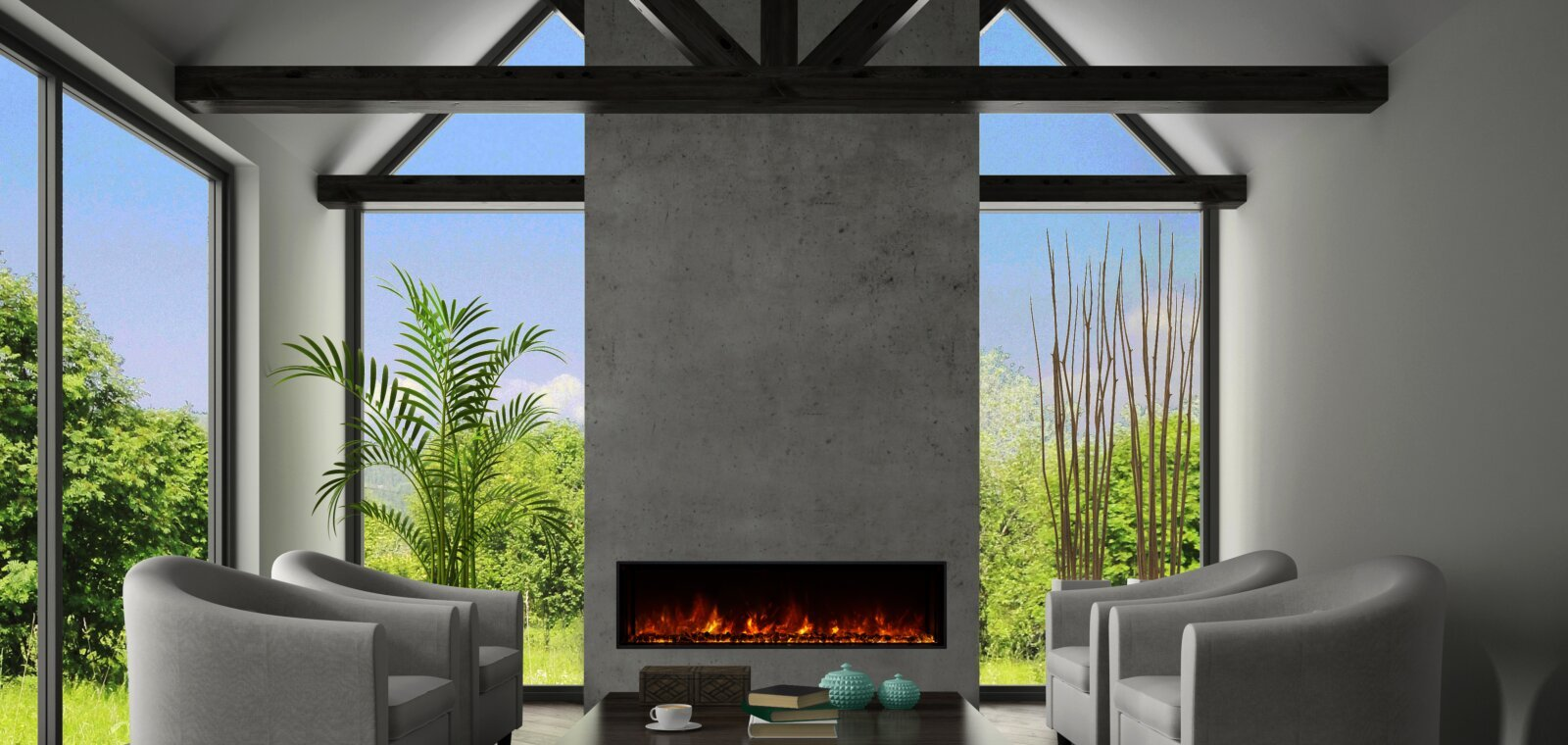 Electric Fireplaces Brochure