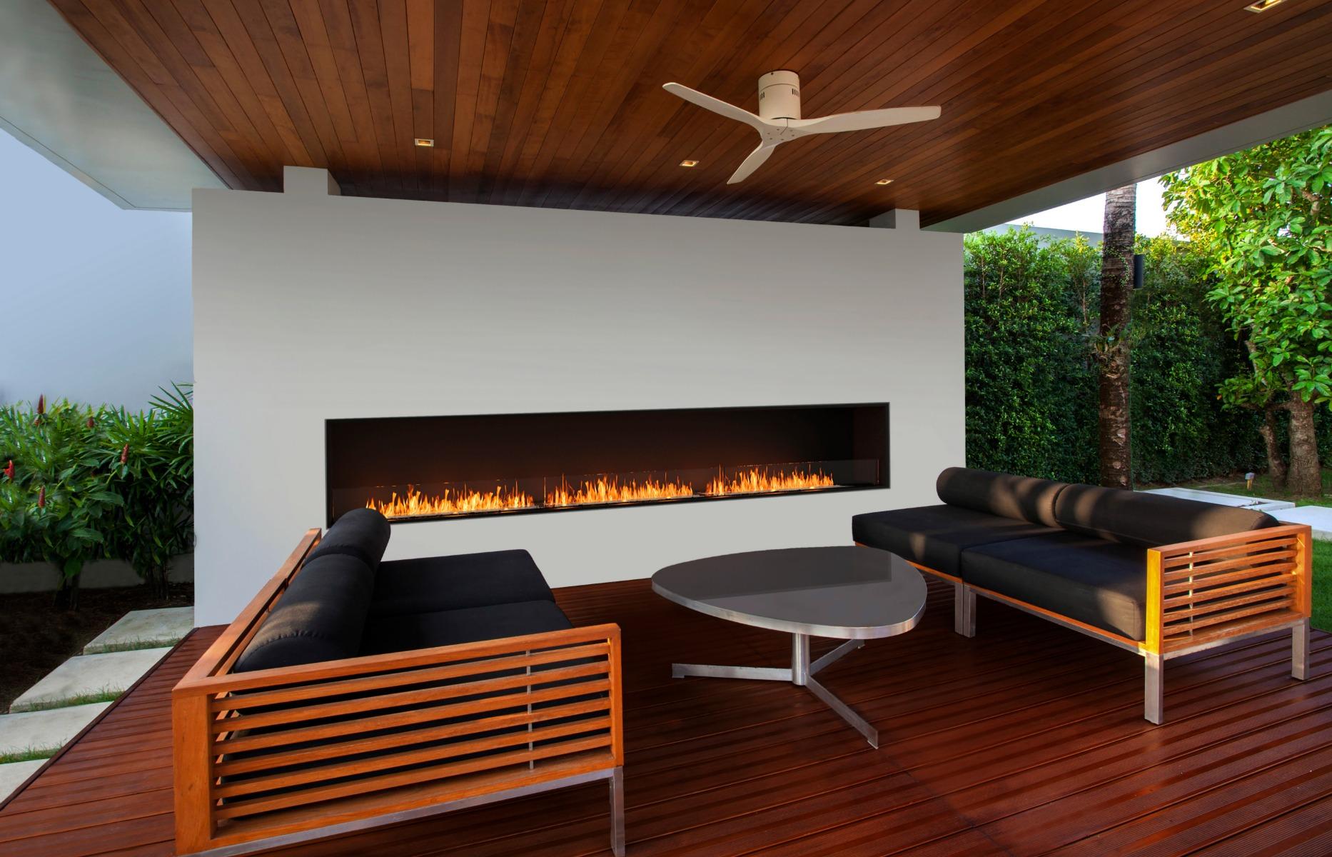 EcoSmart Fire Flex 158 Single Sided Fireplace Insert
